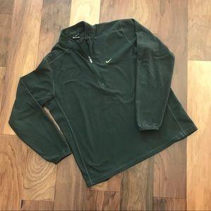 Forest green Nike quarter zip